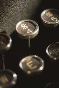 Typewriter for Jeff Goins' Writing Portfolio
